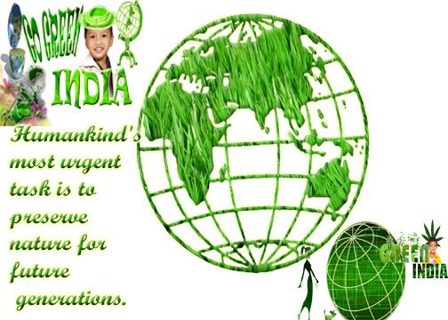 go green save future